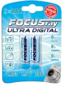 "Батарейка LR03 ""FOCUSRAY ULTRA DIGITAL"" (уп. 2 шт)"