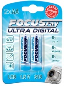 "Батарейка LR06 ""FOCUSRAY ULTRA DIGITAL"" (уп. 2 шт)"